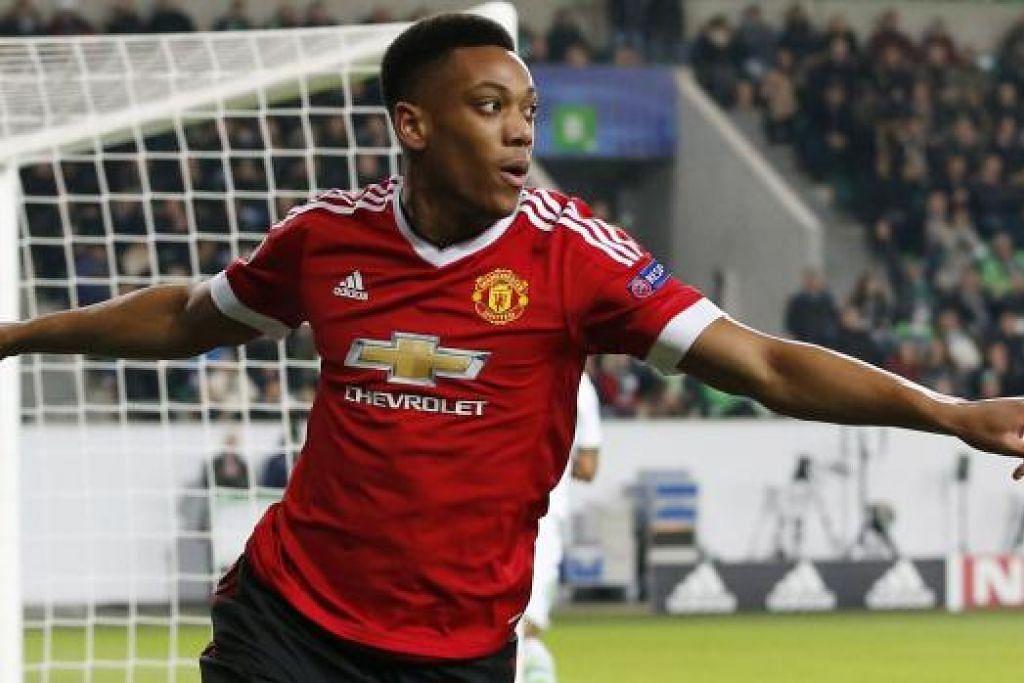 MARTIAL: Menjadi pemain yang begitu berkesan bagi Manchester United dalam beberapa perlawanan lalu.