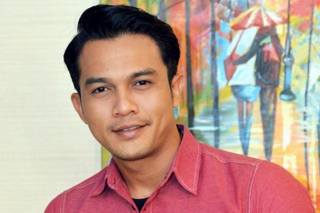 HERO BARU: Syarul Ridzwan adalah hero drama Ramadan, 'Seindah Takdir Cinta', yang dipasangkan dengan Amyra Rosli. – Foto KHALID BABA