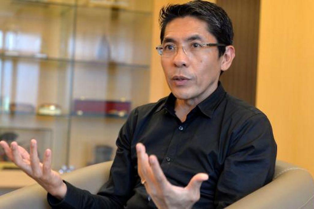 DR MALIKI: Pertahanan mutlak semakin penting di Singapura ekoran perubahan dalam masyarakat Singapura, cabaran masa kini dan penggunaan teknologi yang semakin canggih. - Foto M.O. SALLEH