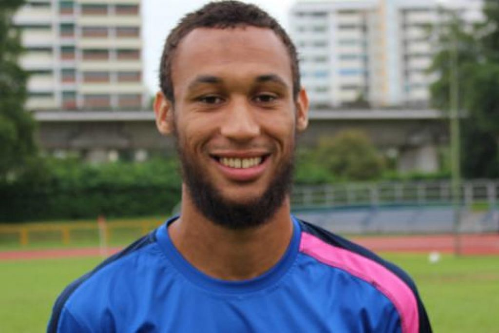 HARAPAN WARRIORS: Johnathan Behe yang berasal dari Perancis menjanjikan harapan jaringan gol bagi Warriors FC musim ini. - Foto FAKHRURADZI ISMAIL