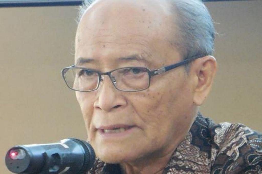 CENDEKIAWAN DISEGANI: Intelek besar Indonesia, Profesor Dr Ahmad Syafii Maarif, mengingatkan peri perlu umat Islam meraih ilmu serta menegakkan keadilan dan rasa kemanusiaan di mana jua berada, sekalipun sebagai kaum minoriti. - Foto MOHD RAMAN DAUD.