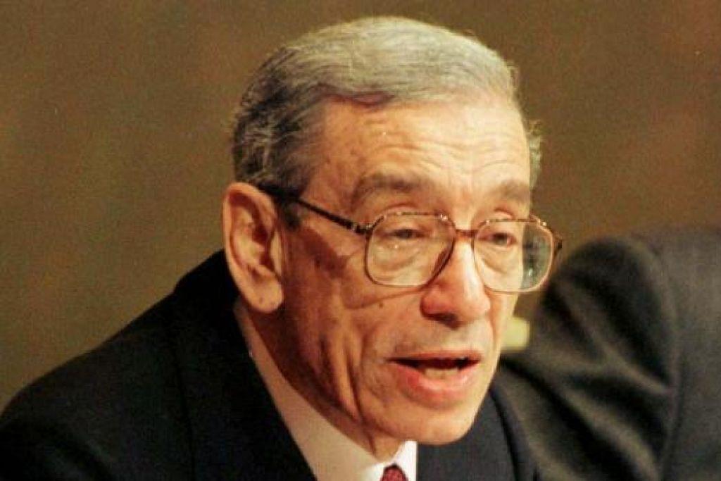 Dr Boutros Boutros-Ghali mengetuai PBB antara 1992 dan 1996. Gambar fail REUTERS