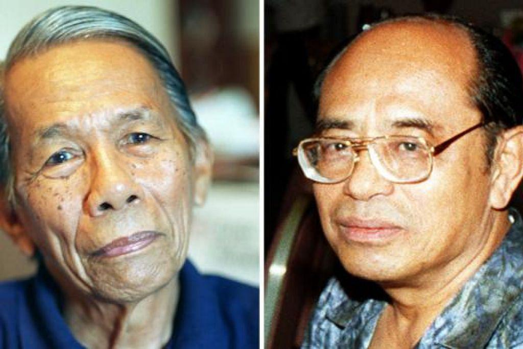 DERMAKAN KOLEKSI PERIBADI: Allahyarham Masuri S.N. dan Allahyarham A Ghani Hamid telah mendermakan koleksi peribadi mereka kepada NLB.
