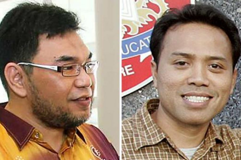 DUA ESEI WAJAR DIBACA: Tulisan Encik Juffri Supa'at (kiri) dan tulisan Encik Tajudin Jaffar mencabar minda. - Foto fail