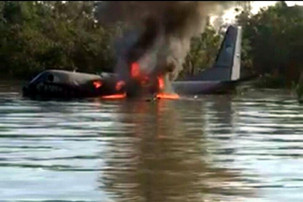 Pesawat tentera udara M'sia mendarat cemas, semua kru selamat