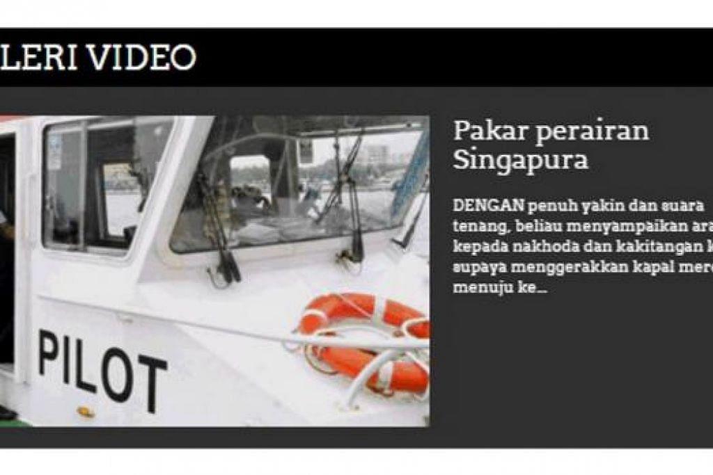 DIKEMAS KINI: Laman web BeritaHarian.sg turut memuatkan senarai video yang diterbitkan sendiri oleh kru Berita Harian. - Foto BERITAHARIAN.SG