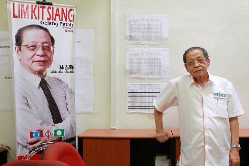 Encik Lim Kit Siang. Gambar fail The Straits Times