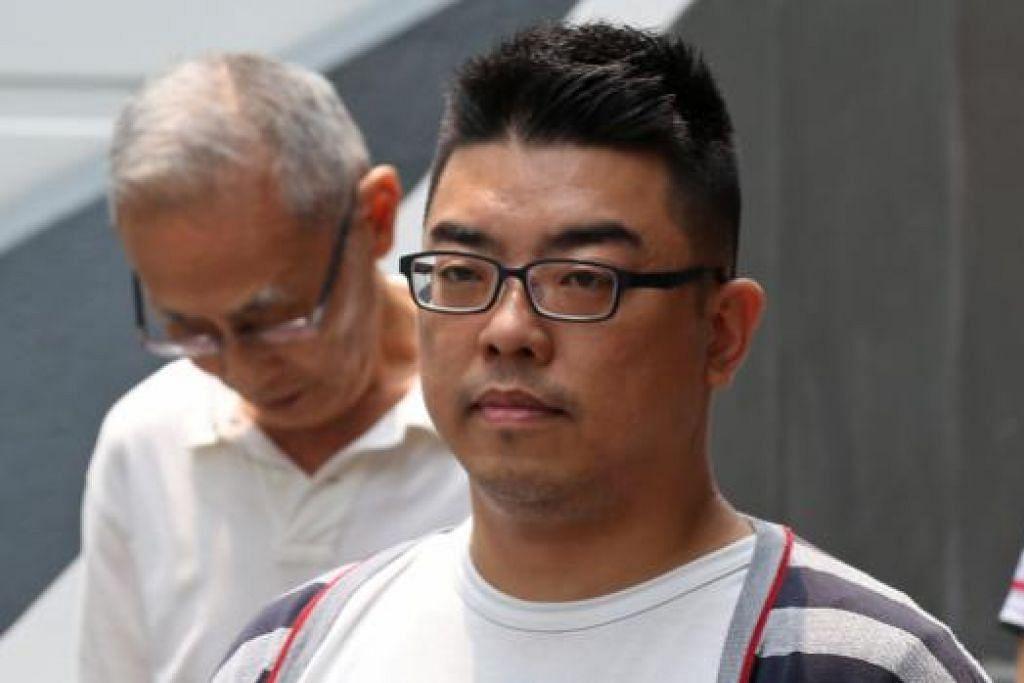 Tan Wei Ping bersubahat dengan bosnya di dua kedai telefon bimbit untuk menipu pelanggan asing. Gambar ST