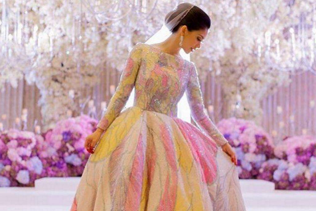 Busana pengantin selebriti jadi tumpuan?