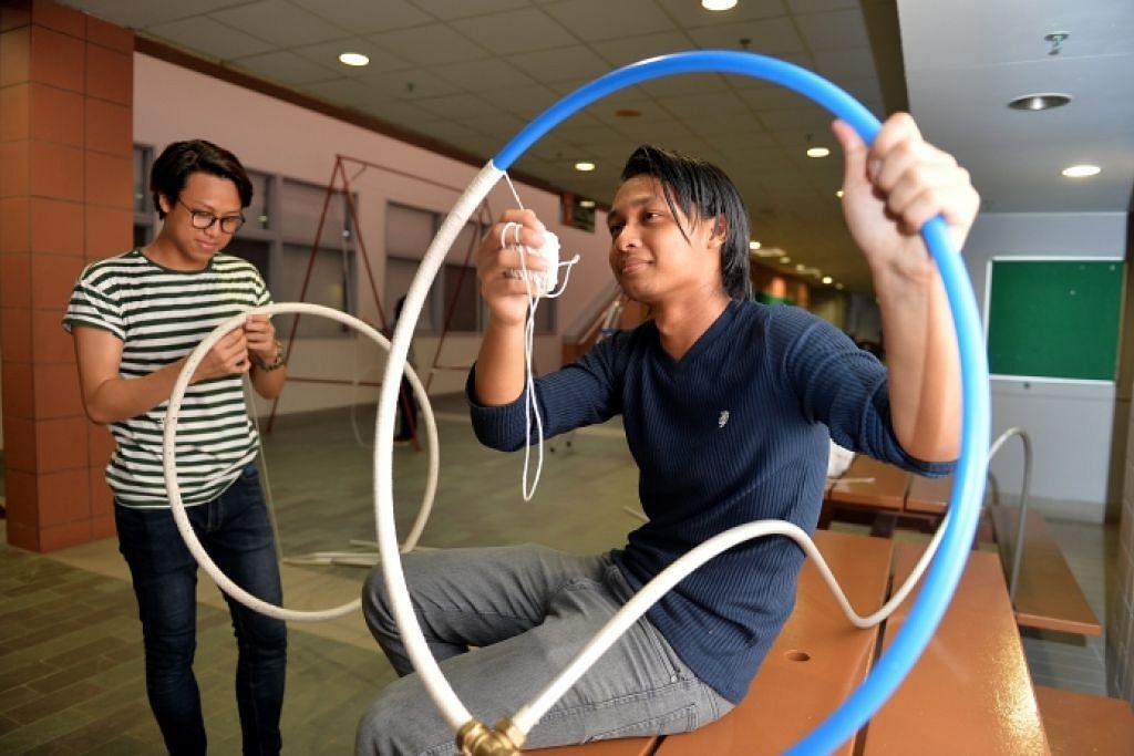 Pelajar NYP tonjol kreativiti lihat cahaya