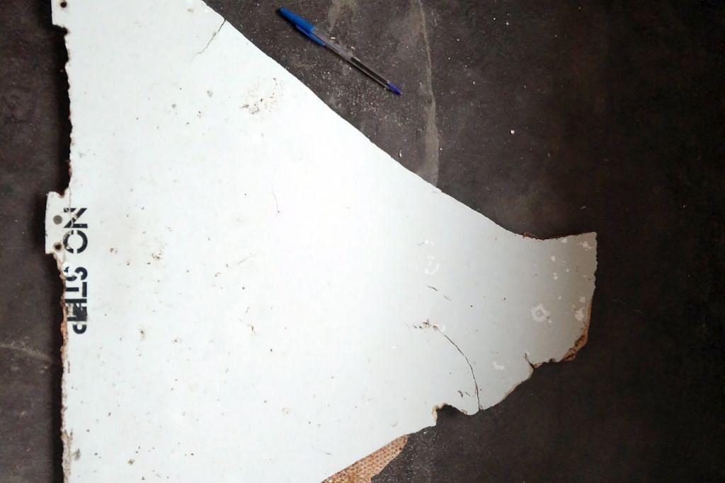 'Serpihan ditemui di Mozambique sama seperti dari MH370'