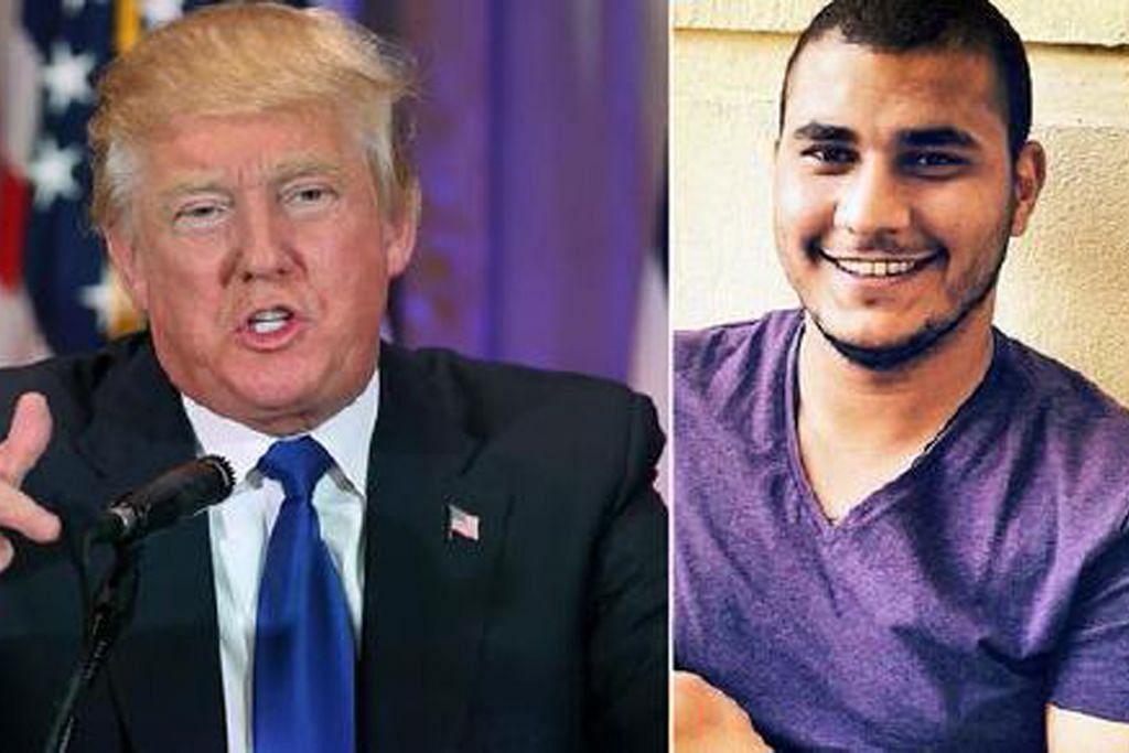 Pelajar Mesir di Amerika ditahan selepas ancam bunuh Trump