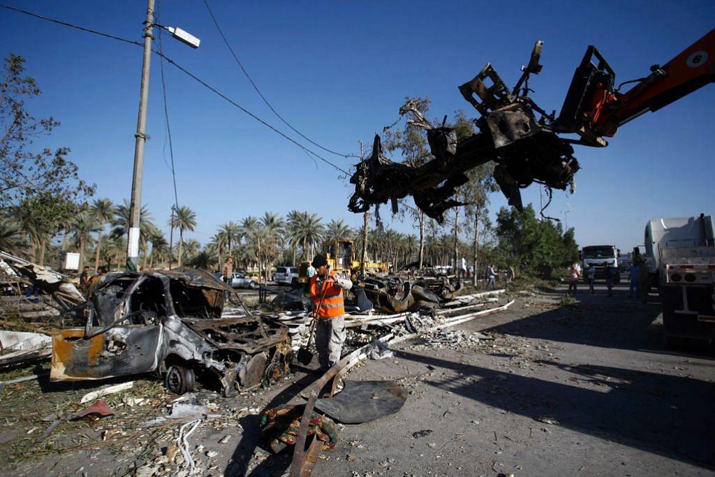 Militan IS letupkan pusat pemeriksaan Iraq
