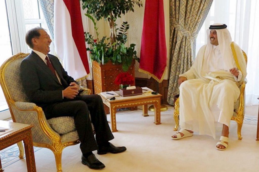 S'pura, Qatar perkukuh komitmen kerjasama