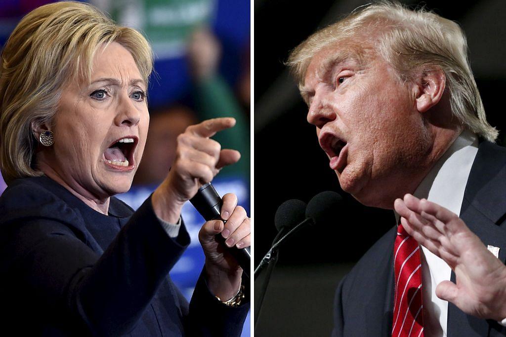 Trump, Clinton terus ungguli pencalonan parti masing-masing