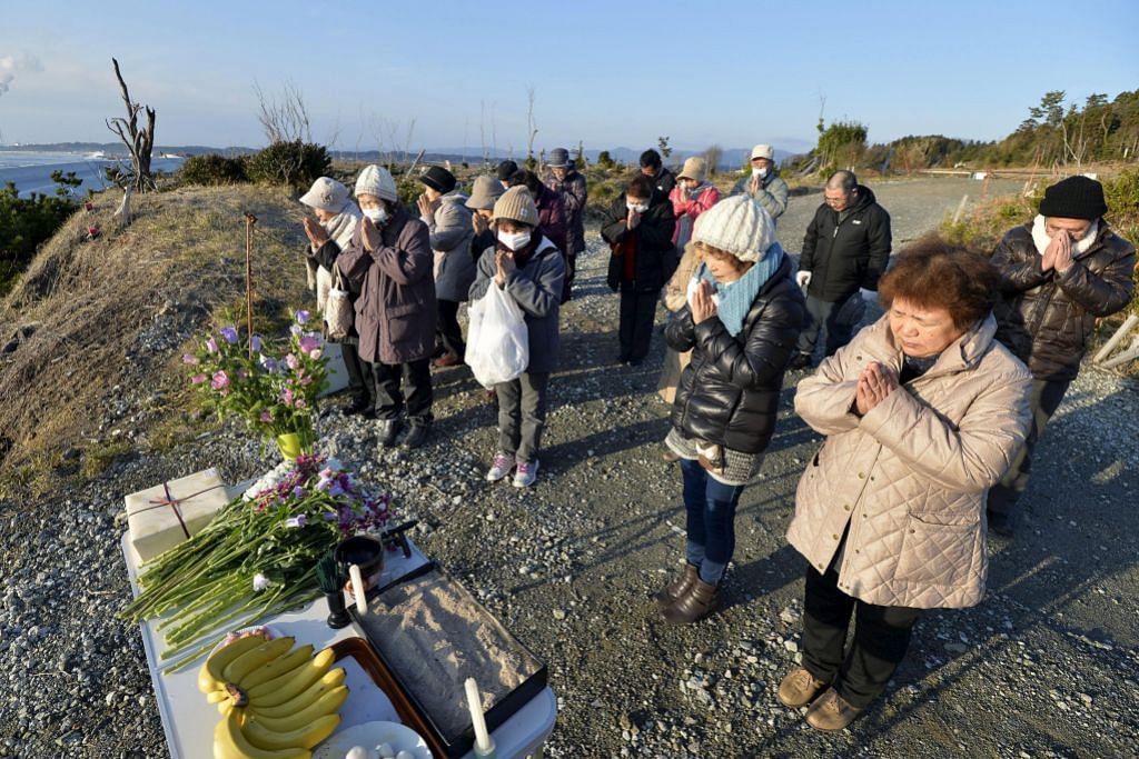 Jepun peringati tahun ke-5 tribencana gempa, tsunami dan nuklear