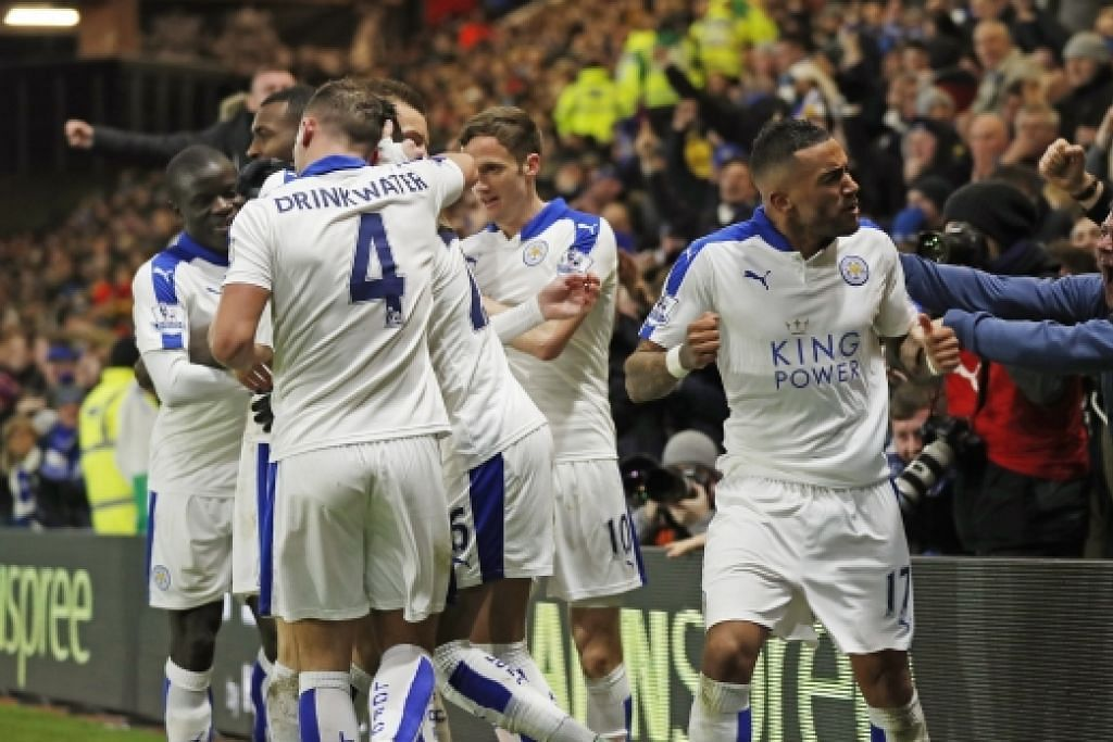LIGA PERDANA ENGLAND Ranieri: Leicester bukan pasukan pilihan juarai EPL