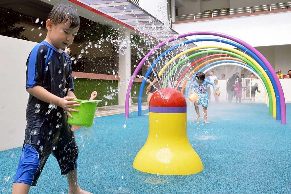 Taman permainan deria bagi kanak-kanak istimewa