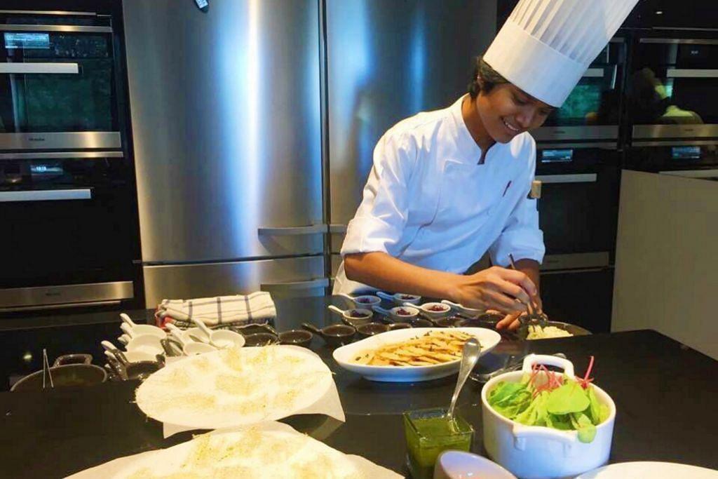 Tadah hujan emas di negeri orang PELAJAR Tampilkan masakan Singapura di Perancis KEMAJUAN ITE