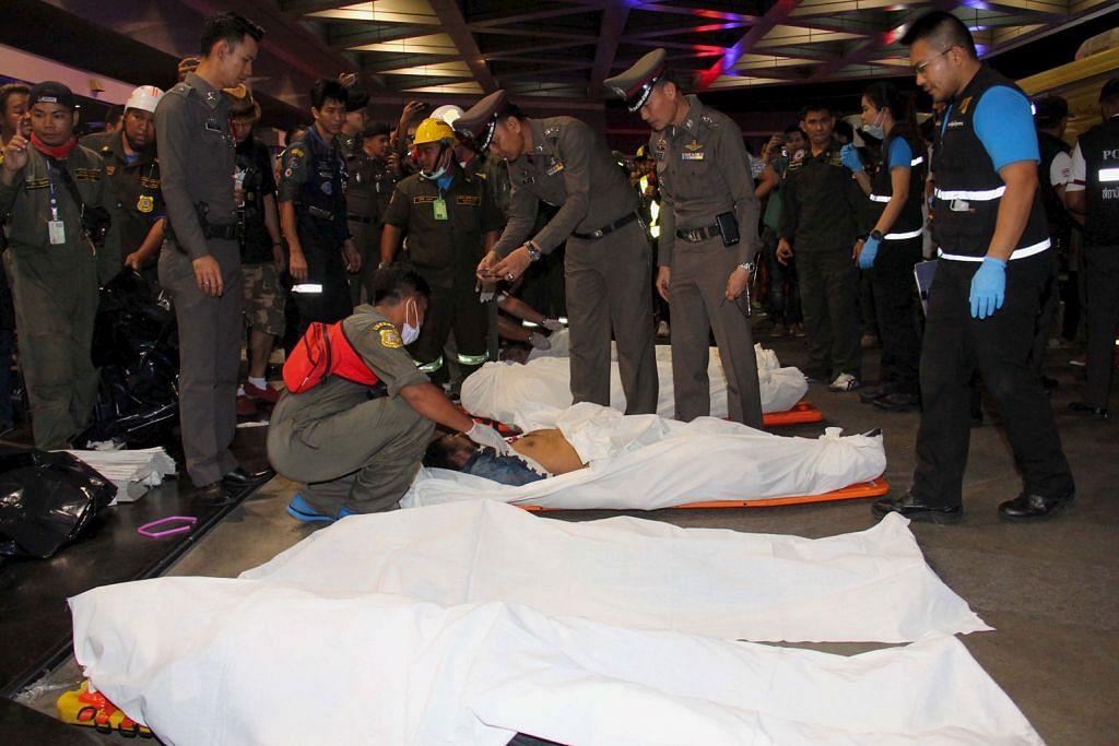 8 maut kerana kecuaian pekerja penyenggara di Bangkok