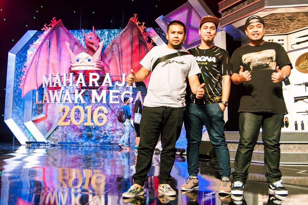 Bora suntik komedi Singapura di pentas Maharaja Lawak Mega