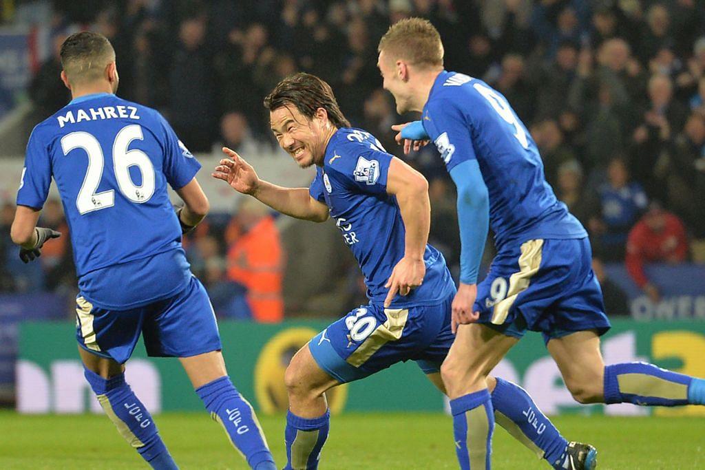 Leicester terus mara LIGA PERDANA ENGLAND