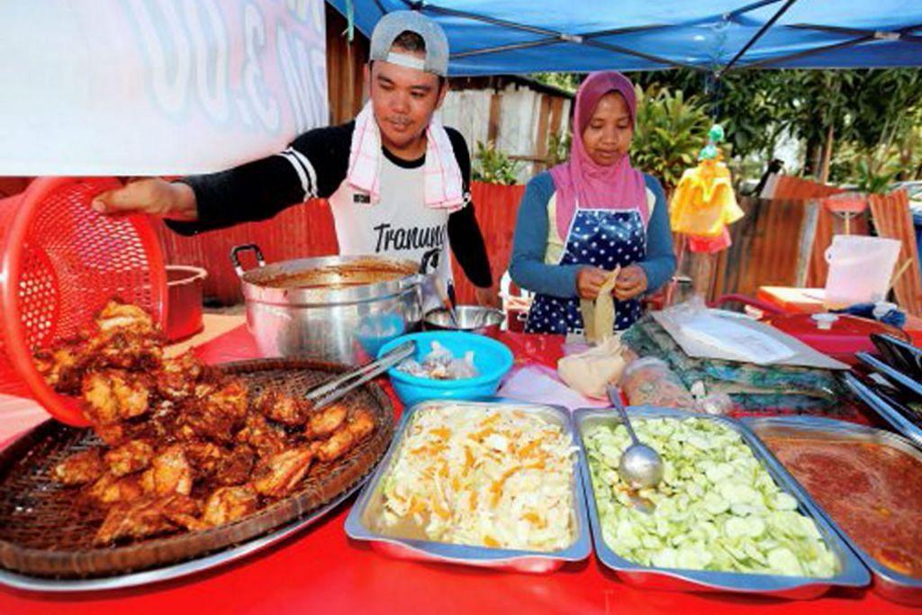 'Nasi bajet' $1 jadi pelaris gerai makan di Kuala Terengganu