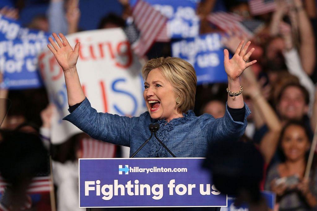 Trump dan Clinton menang besar, kukuhkan peluang pencalonan