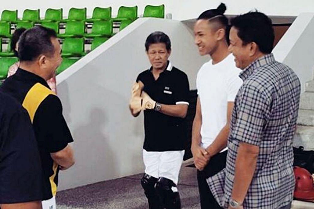 PERSONALITI SUKAN 'Ikatan' diraja Brunei bagi Leicester