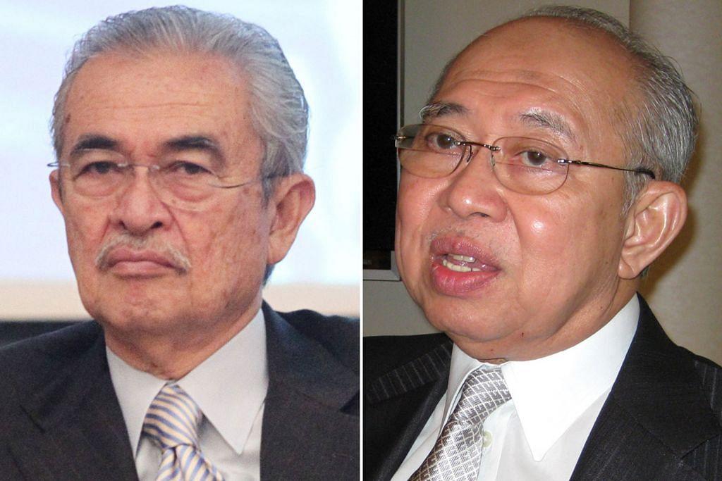 Pak Lah dan Ku Li disebut-sebut ganti Mahathir di Petronas