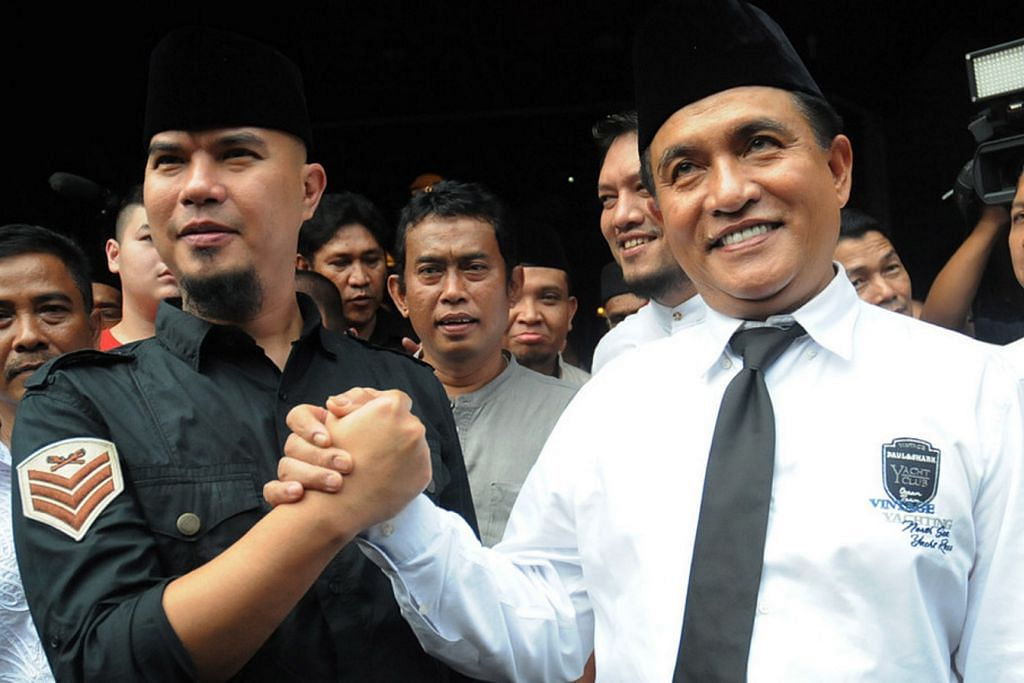 Ahmad Dhani mahu cabar 'Ahok' jadi Gabenor Jakarta