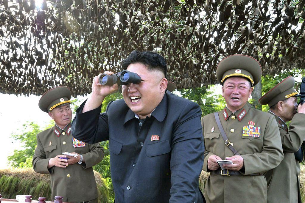 Korea Utara ungkal, lancar dua peluru berpandu