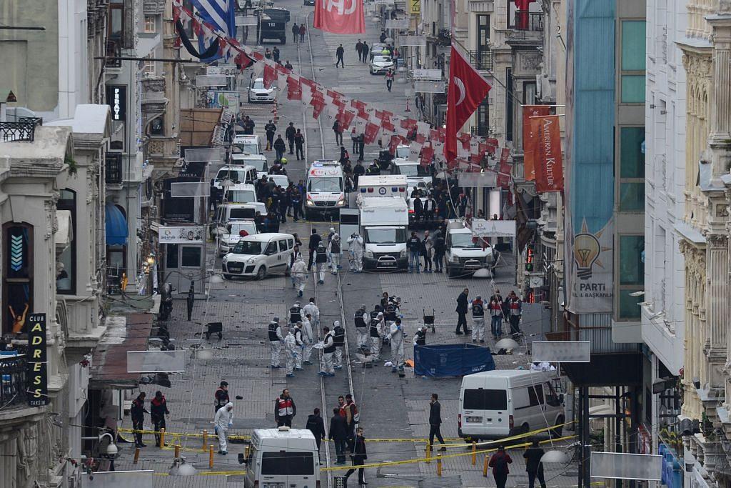 Pengebom nekad serang Istanbul