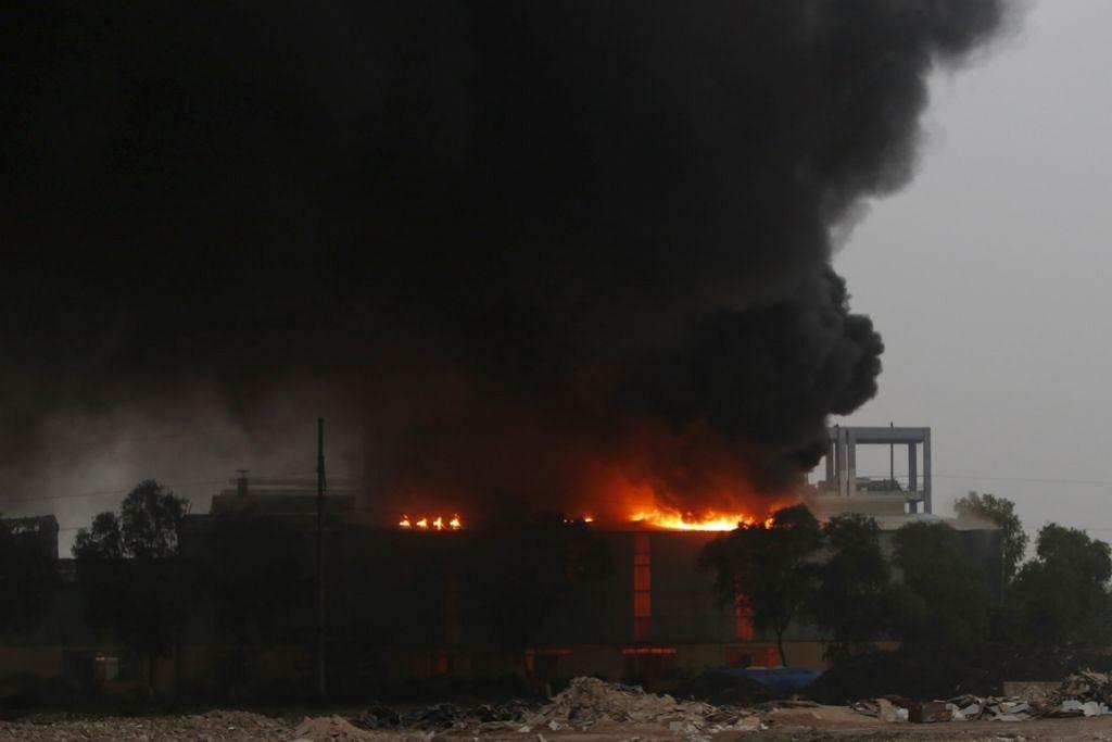 Empat maut, 10 cedera akibat letupan di Hanoi