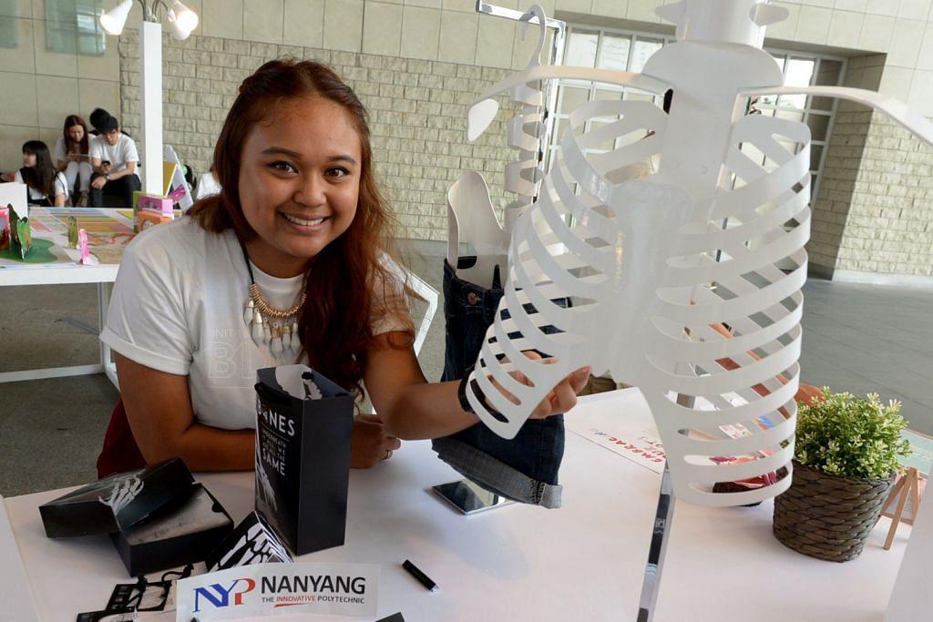Tulang beri pelajar Poly Nanyang ilham hasilkan jenama pakaian Bones