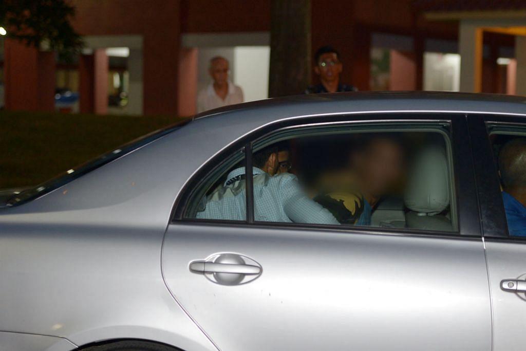 Lelaki buruan polis diberkas selepas kunci diri dalam flat jiran