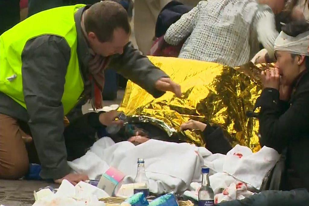 Puluhan maut dalam serangan bom nekad di Belgium