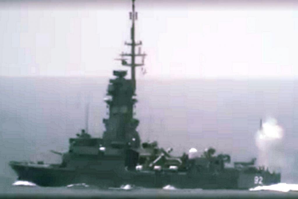 Eng Hen ikuti latihan peluru berpandu antimisil Barak