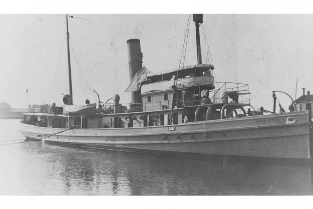 Kapal AS karam 95 tahun lalu ditemui
