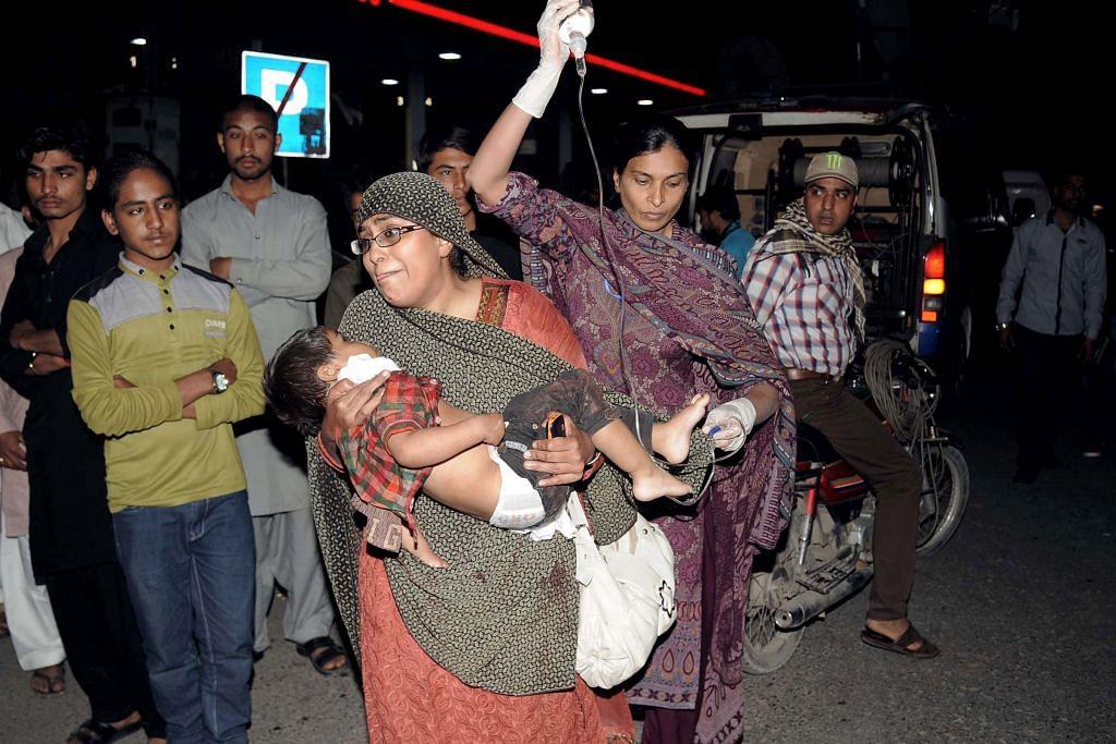 Lebih 70 maut dalam serangan pengebom nekad di Lahore