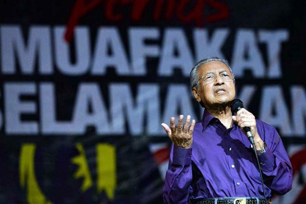 KEMELUT POLITIK MALAYSIA Dr M: Kit Siang, saya sama pendirian mahu singkir Najib
