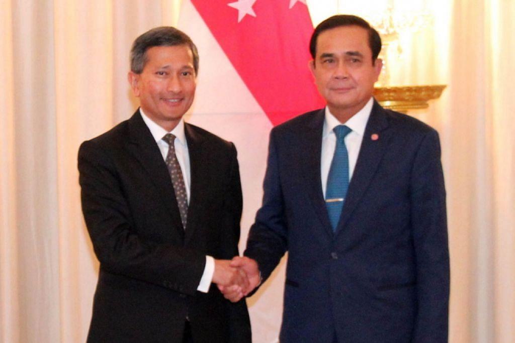 Thailand, S'pura perkukuh jalinan