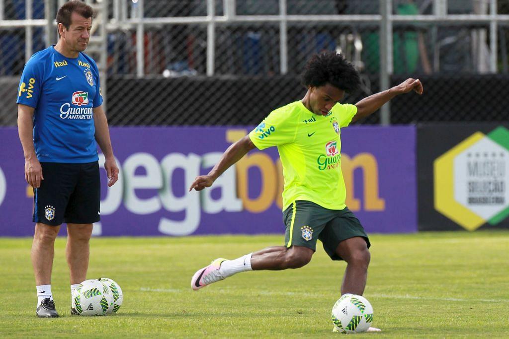 Dunga: Brazil mesti beraksi untuk menang KELAYAKAN PIALA DUNIA AMERIKA SELATAN