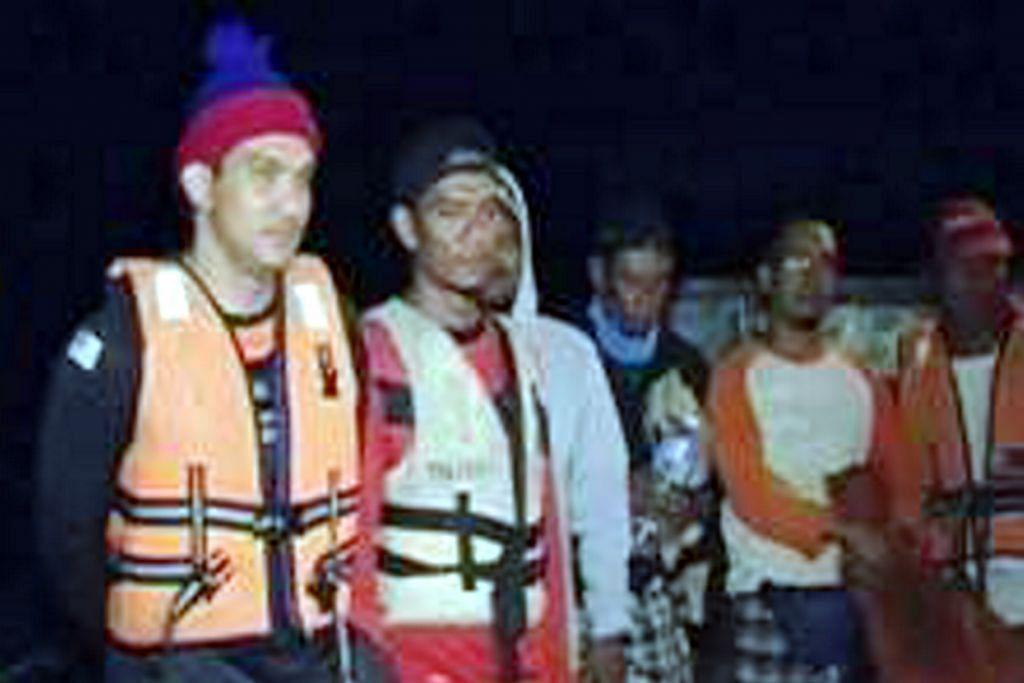 Pemancing, awak-awak bot yang hilang ditemui selamat