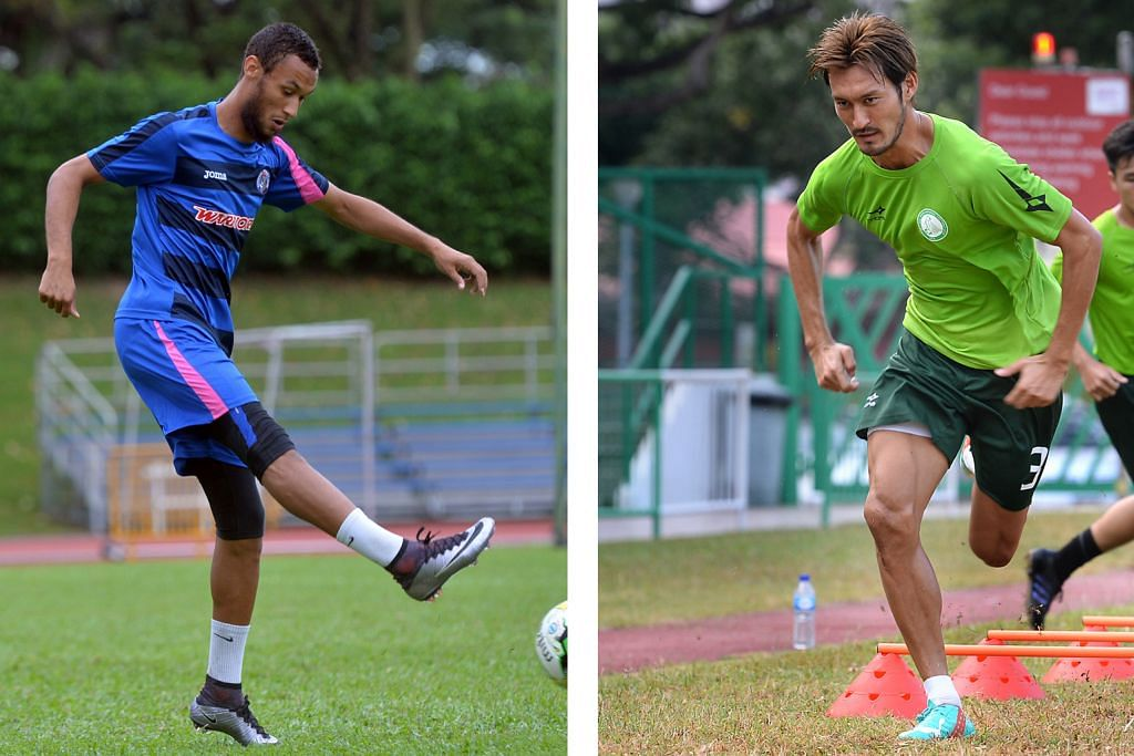 Behe, Ichikawa penentu nasib Warriors, Geylang LIGA-S GREAT EASTERN-YEO'S