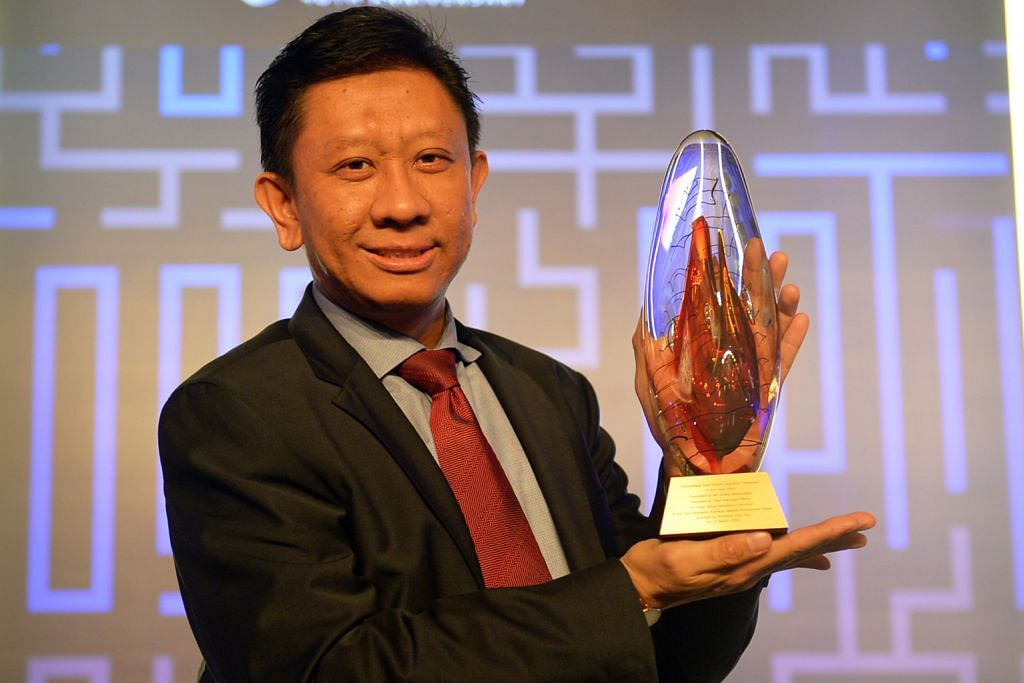 Shafie diiktiraf sebagai CEO Luar Negara Terbaik