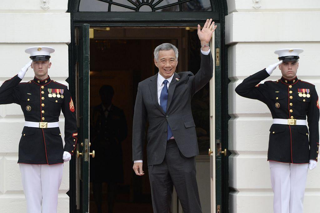 PM Lee di Washington