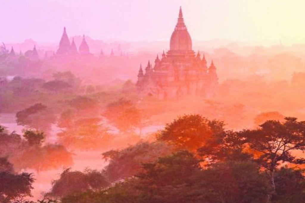 BERITA MELANCONG Pelawat Myanmar dilarang daki pagoda