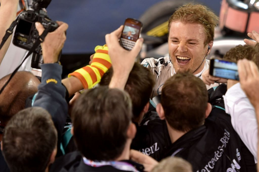 FORMULA SATU Bibit saingan sengit Rosberg-Hamilton berputik