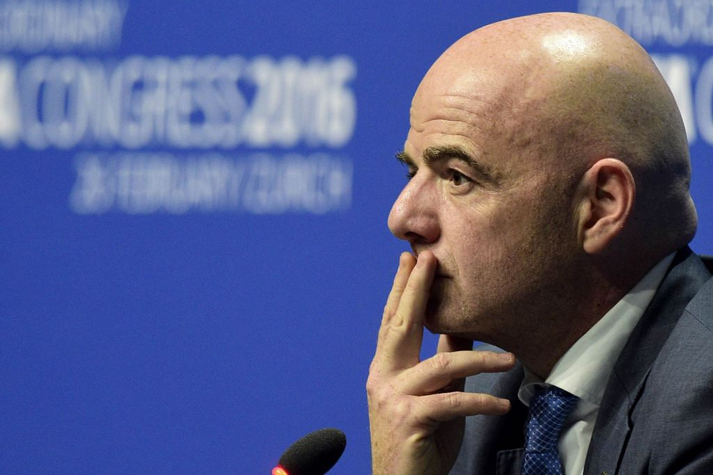 Presiden Fifa kesal kewibawaan dipersoal